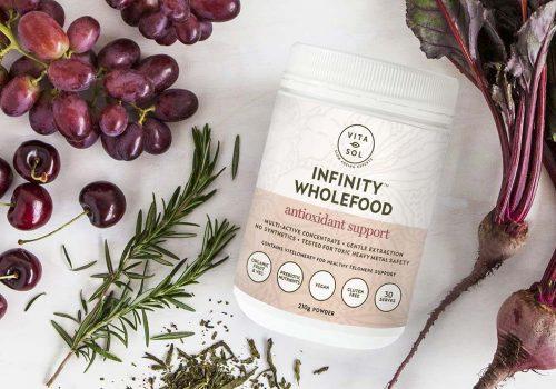 Vita-Sol Infinity Wholefood Powders Probiotics